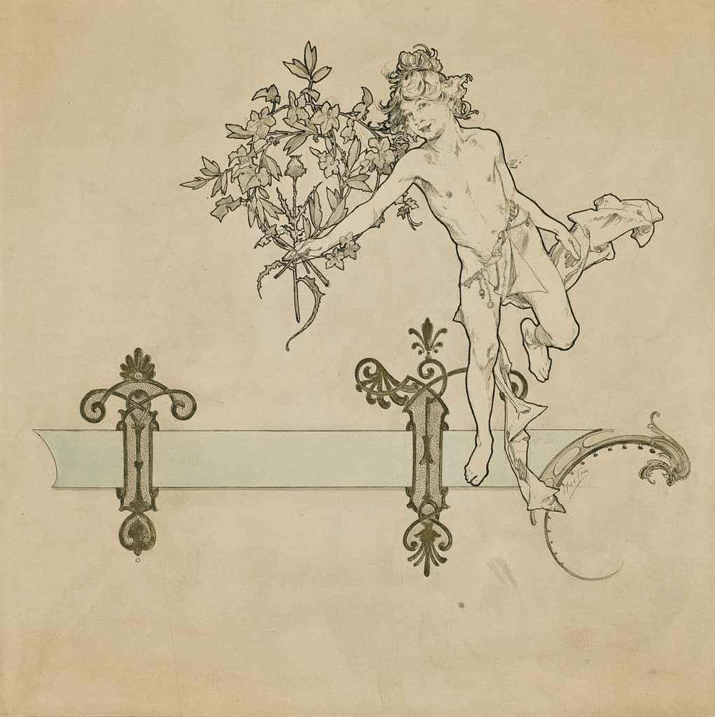 ALPHONSE MUCHA (MORAVIE 1860-1