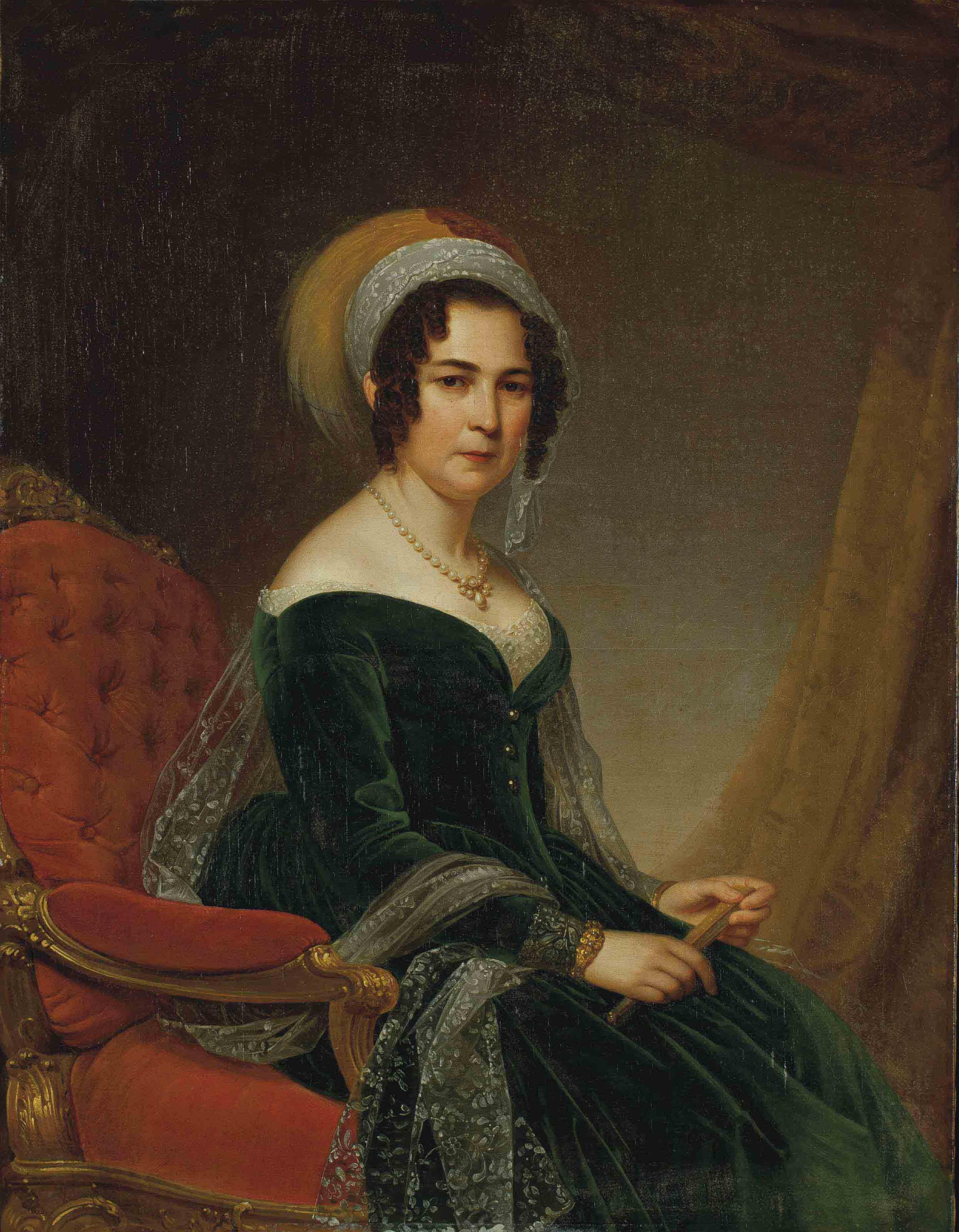 Dame au turban ou portrait de madame Moritz Koenigswarter, née Cécilia Wertheimer