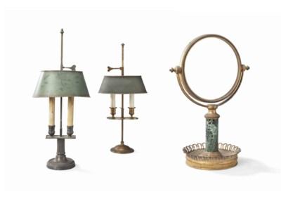 DEUX LAMPES BOUILLOTTE DE STYL