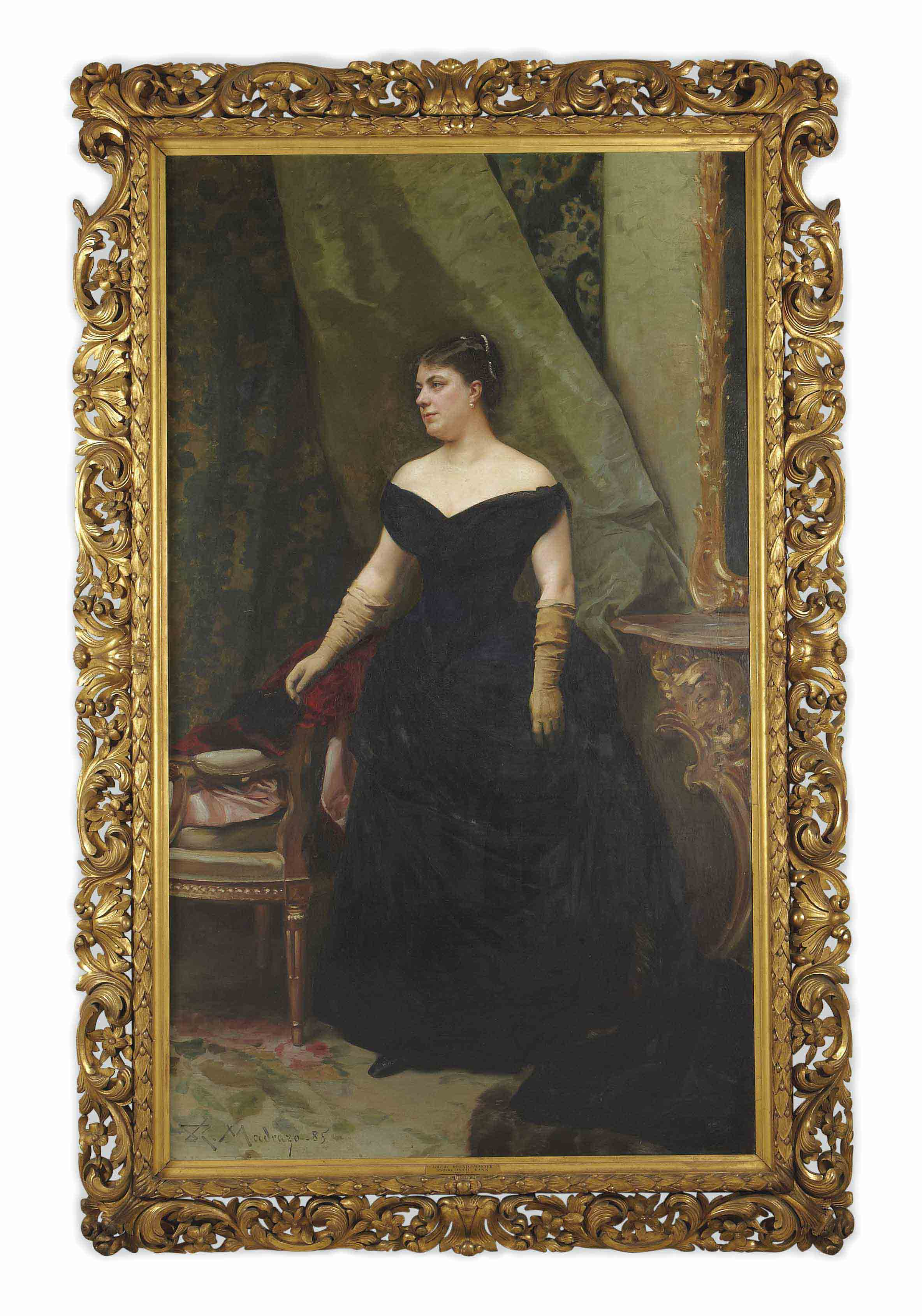 Portrait de madame Isaac Hirsch Kann, née Koenigswarter