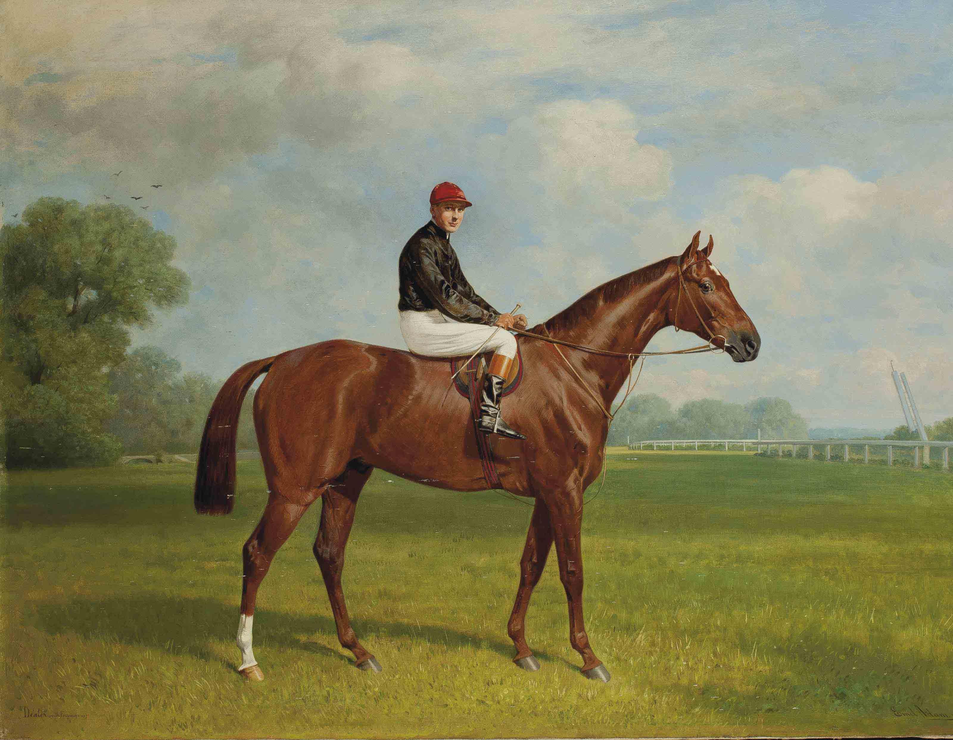 EMIL ADAM (MUNICH 1843-1924 ?)