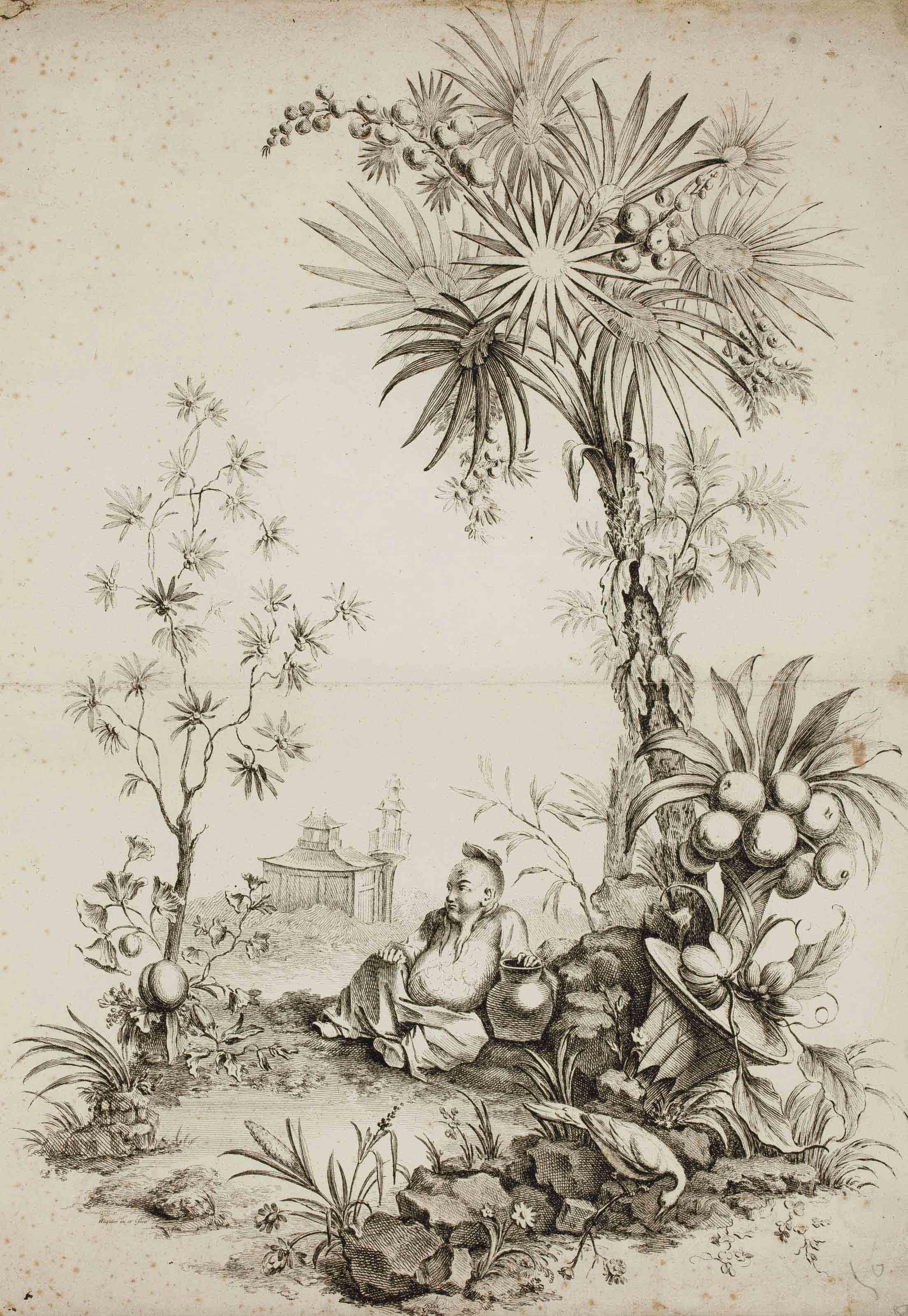 Chinoiseries, par Gabriel Huquier