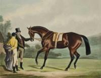 Attila winner of The Derby at Epsom ; Ghuznee winner of the Oaks, par J.R. Mackrell