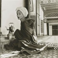 Woman in Moroccan Palace (Lisa Fonssagrives-Penn), 1951