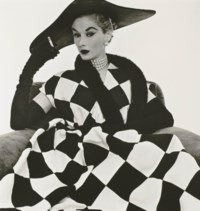 Harlequin Dress (Lisa Fonssagrives-Penn), 1950
