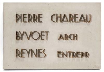 PIERRE CHAREAU (1883-1950)