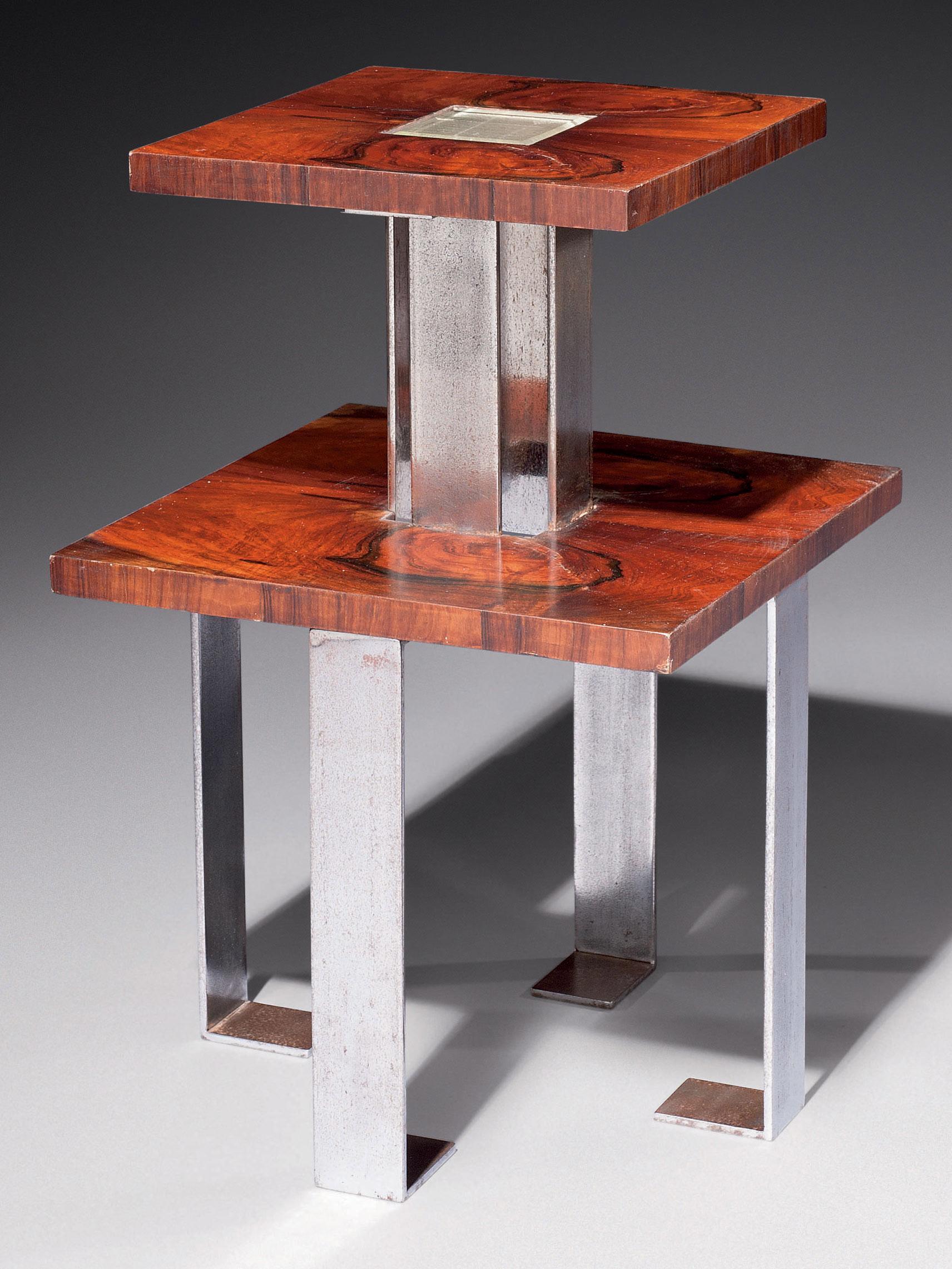 travail fran ais gu ridon moderniste ann es 1930 christie 39 s. Black Bedroom Furniture Sets. Home Design Ideas