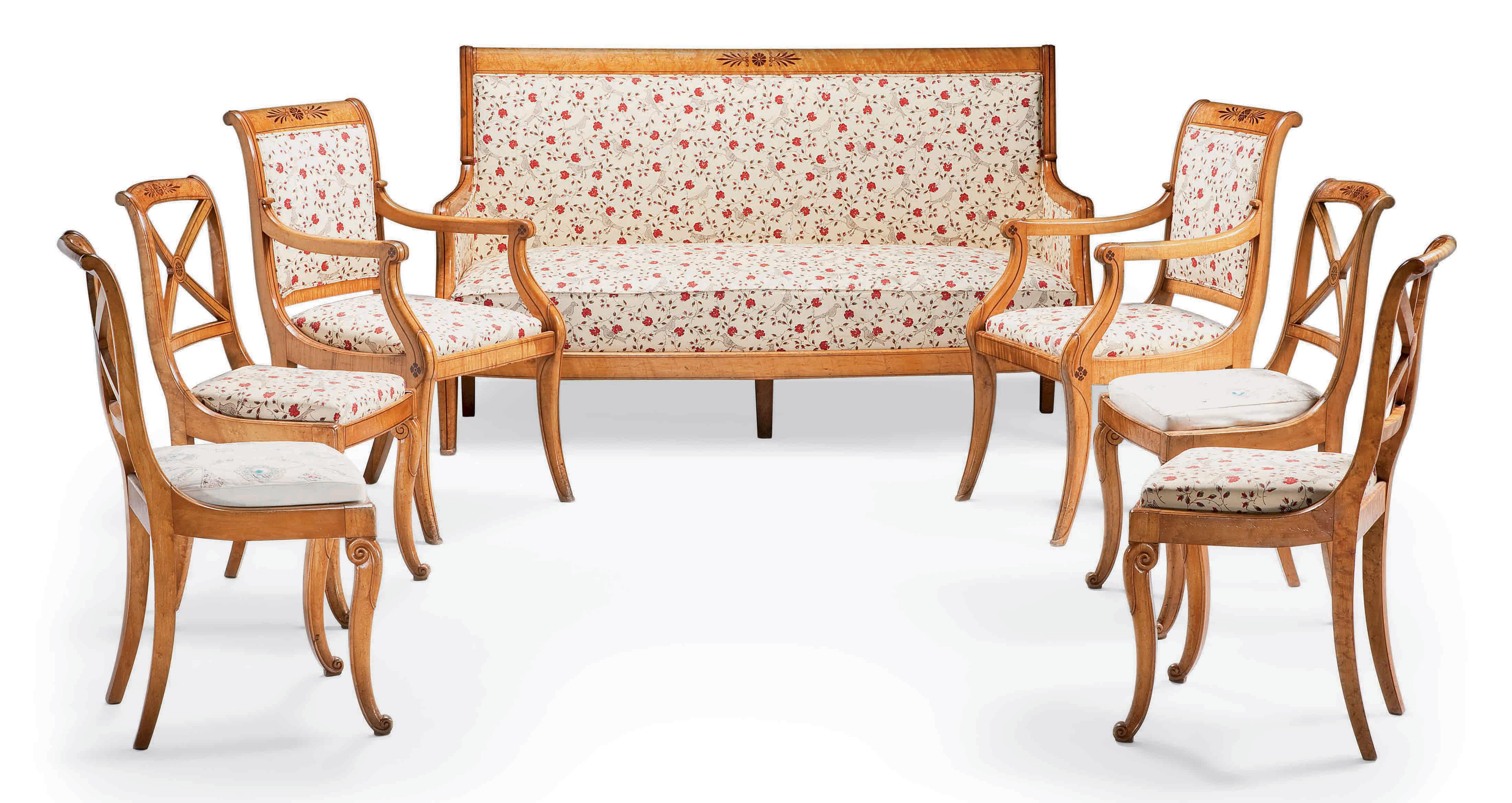 Mobilier de salon d 39 epoque charles x vers 1820 christie 39 s for Mobilier de salon