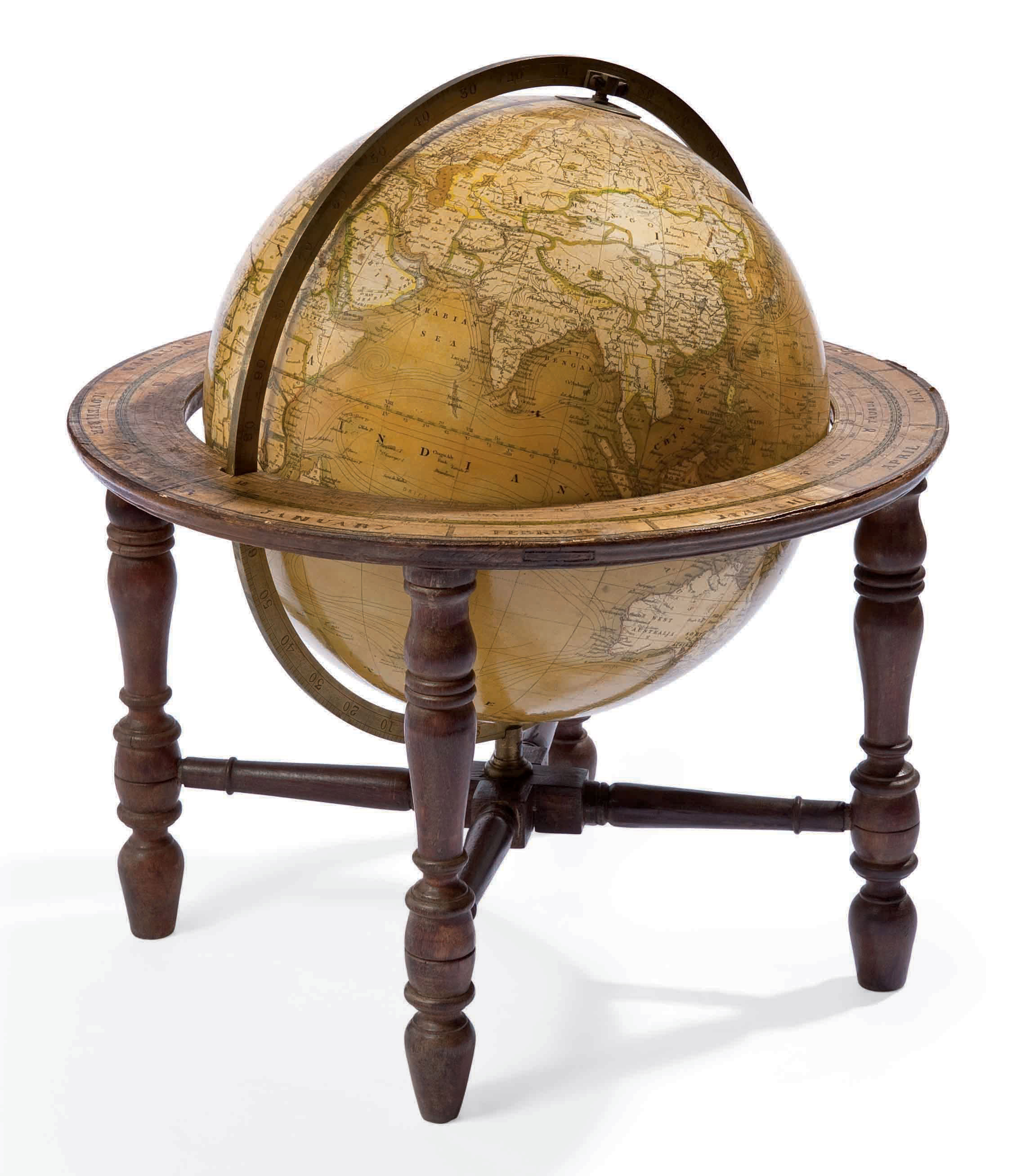 globe terrestre vers 1880 londres par smith and son christie 39 s. Black Bedroom Furniture Sets. Home Design Ideas
