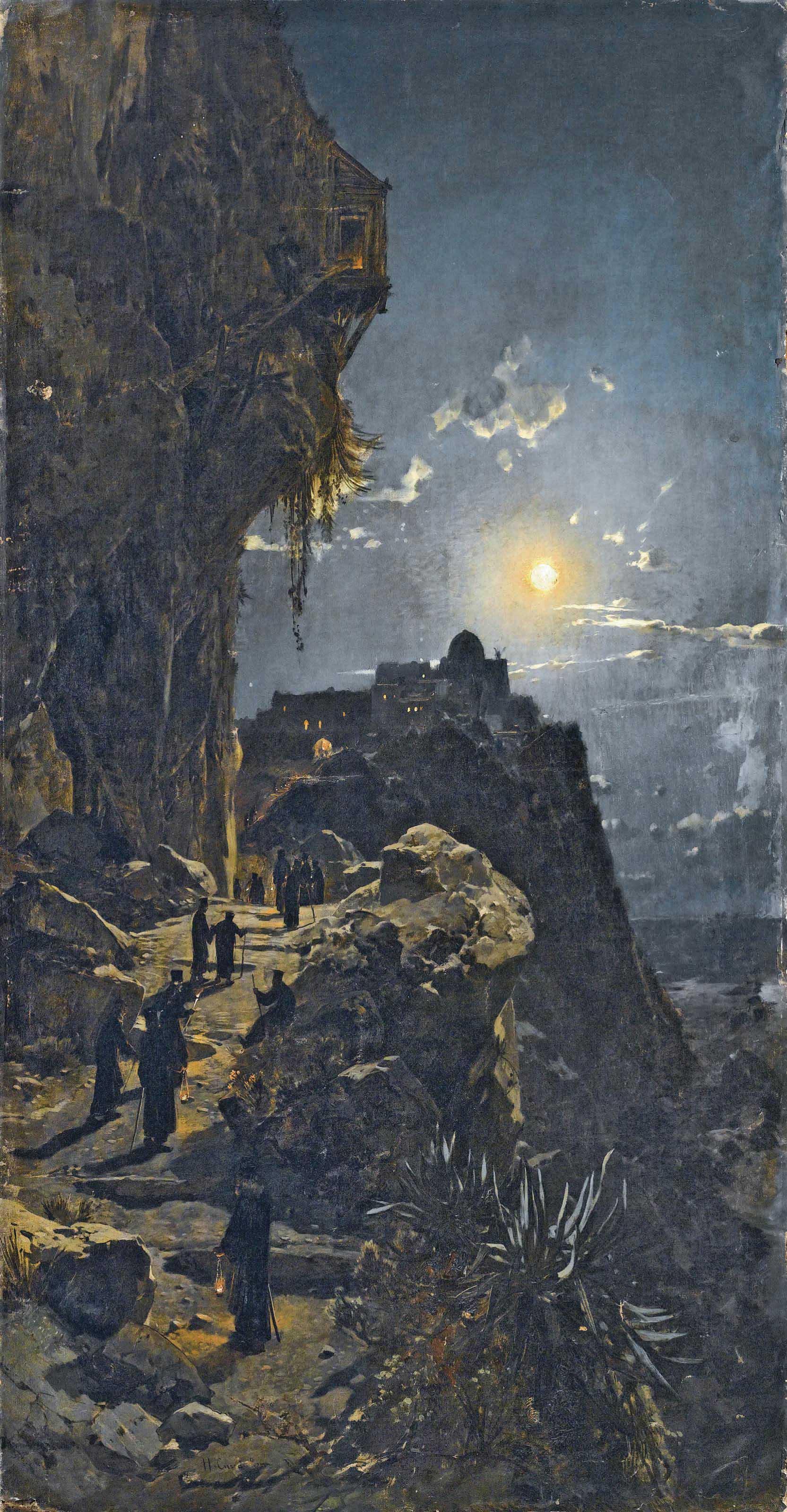 Notturno sul Monte Athos