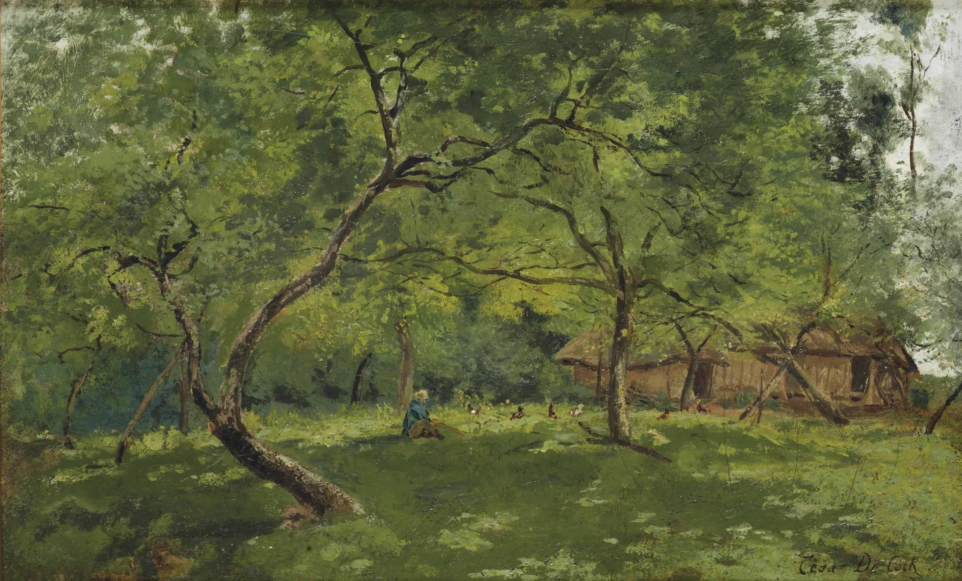 César De Cock (1823-1904)