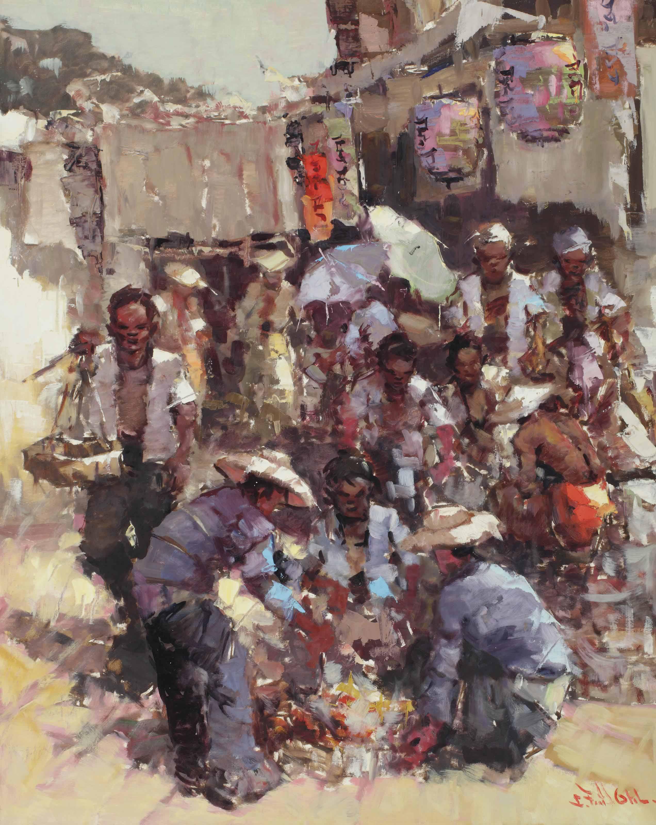 Sorting of wares