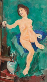 The painter's model