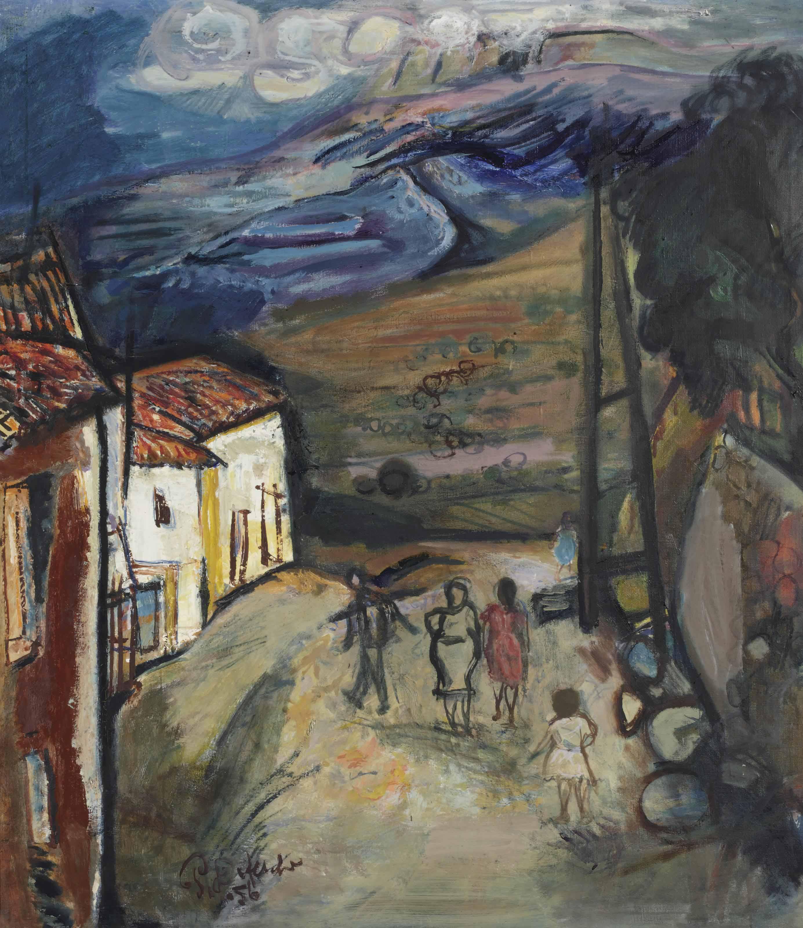Landschap in de Levanten