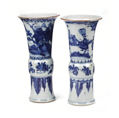 Two Chinese Transitional-style