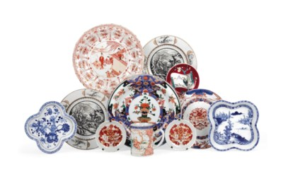 A collection of Chinese export
