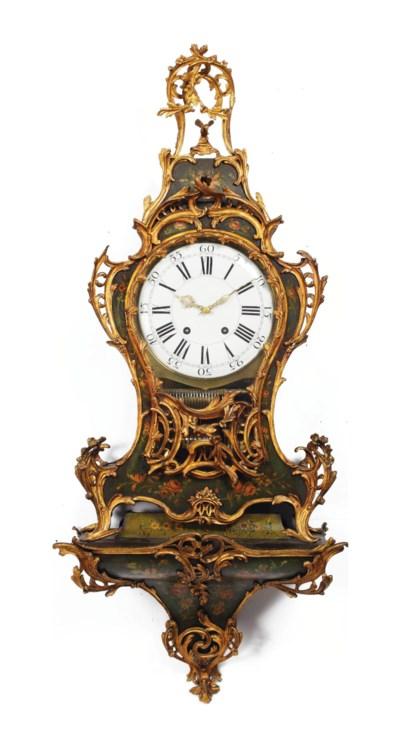 A Louis XV ormolu-mounted vern