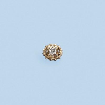 A RETRO DIAMOND RING, BY CARTI