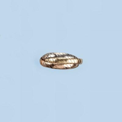 AN 18K GOLD BANGLE, BY HERMÉS