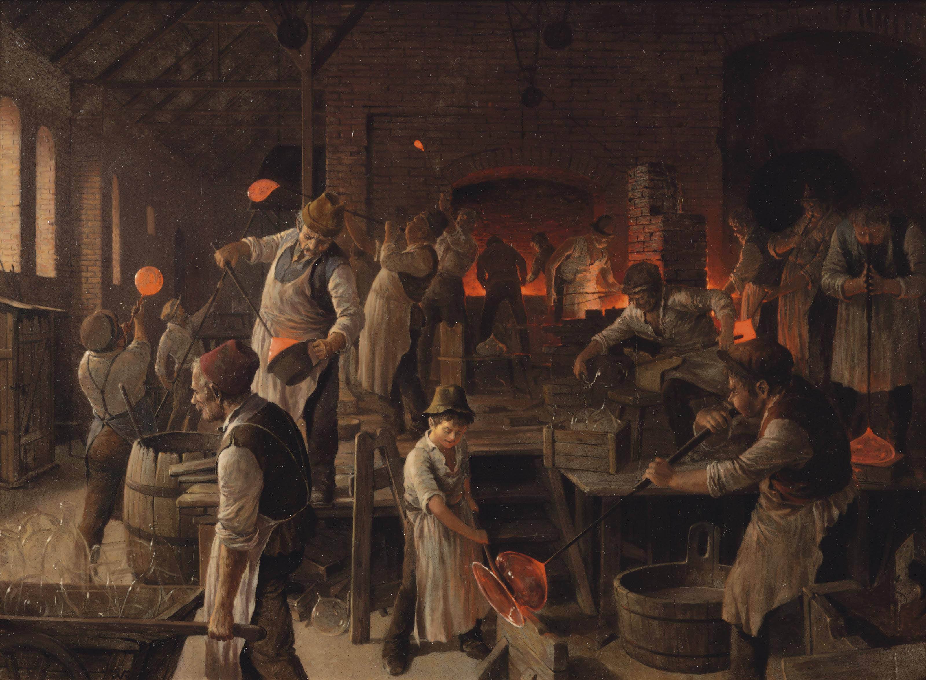 The glass blowers
