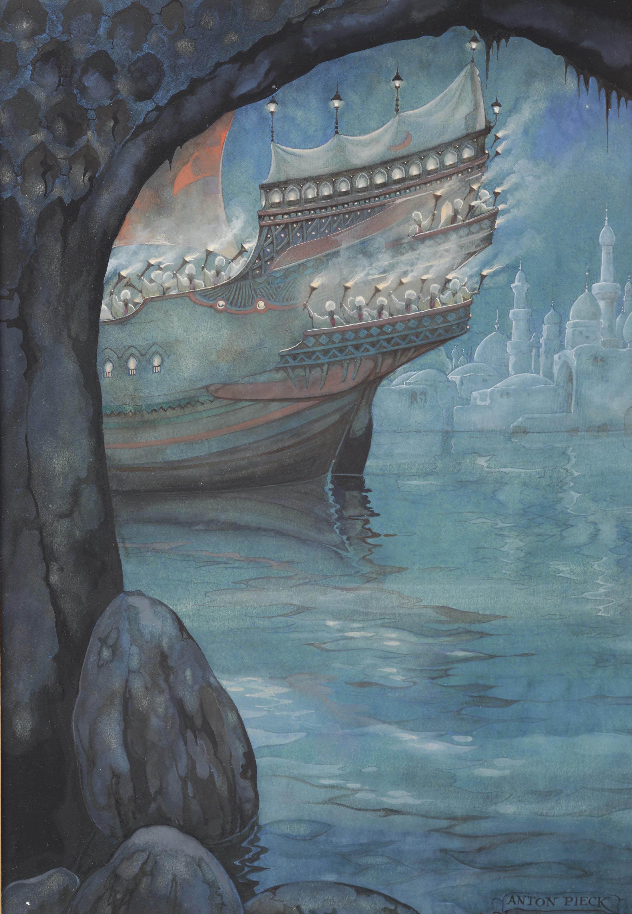 From 1001 Arabian nights; the story of The strange Khalif
