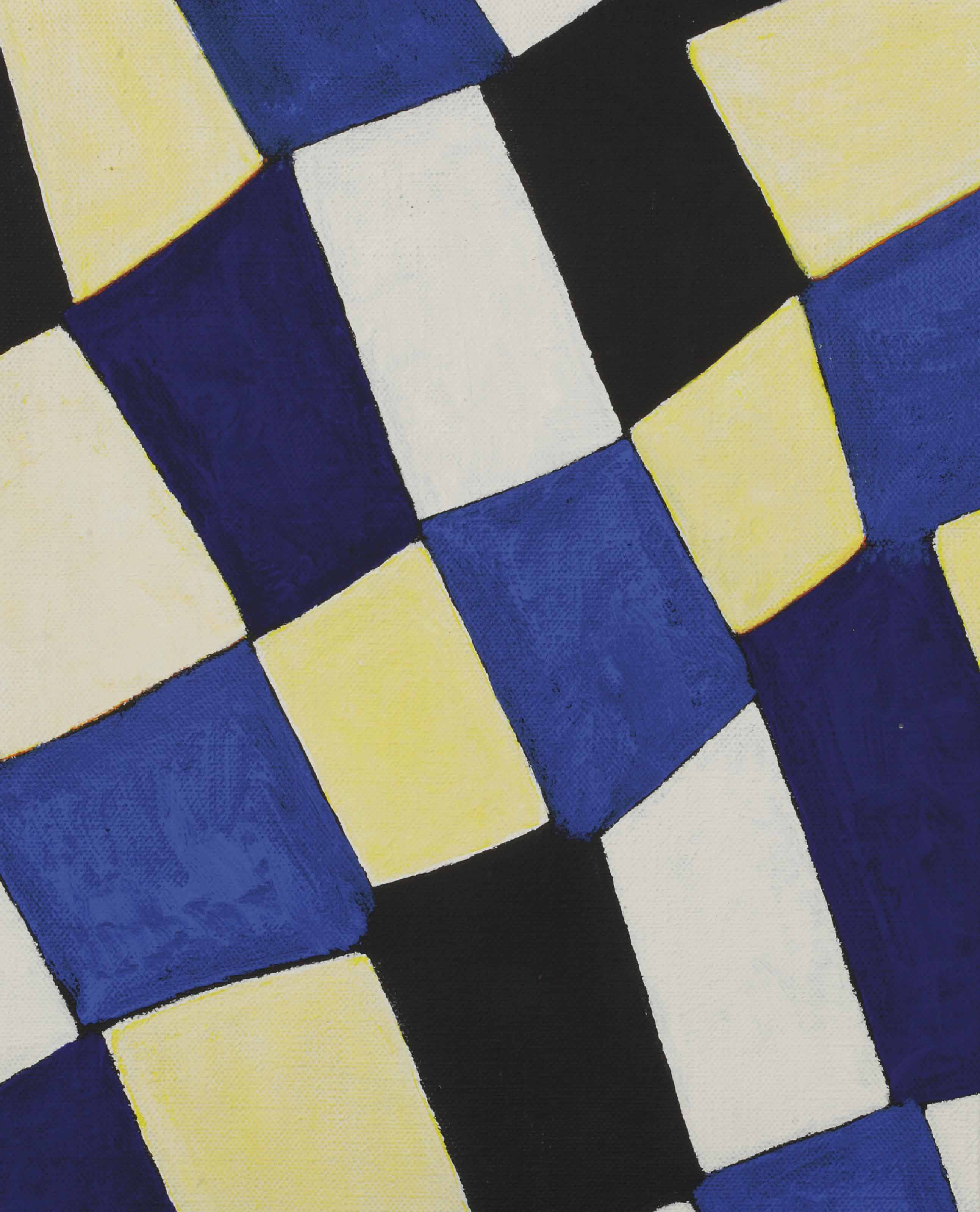 Wit-geel-blauw