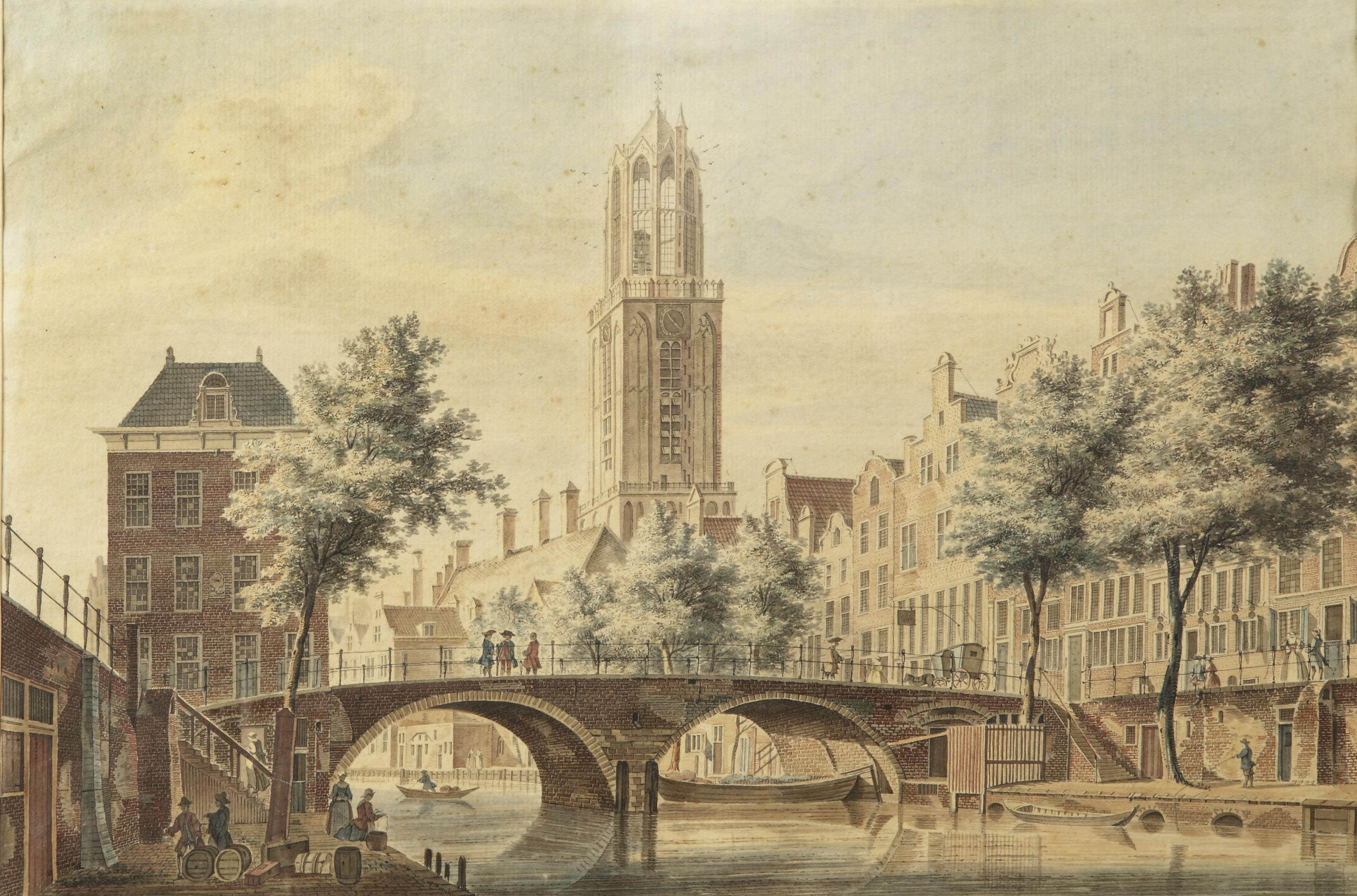 View of the Gaardbrug, Utrecht