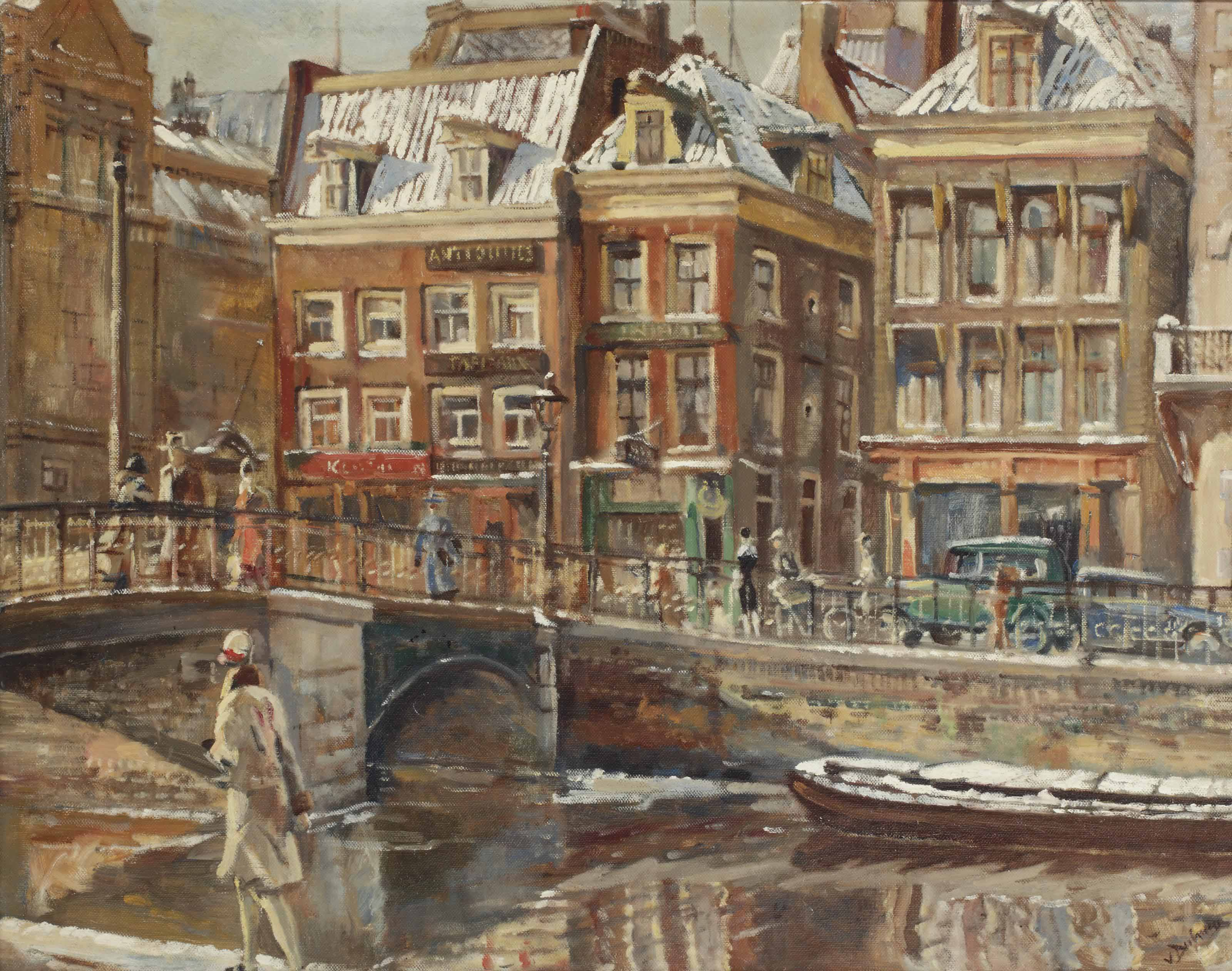 A view of the Rokin, Amsterdam