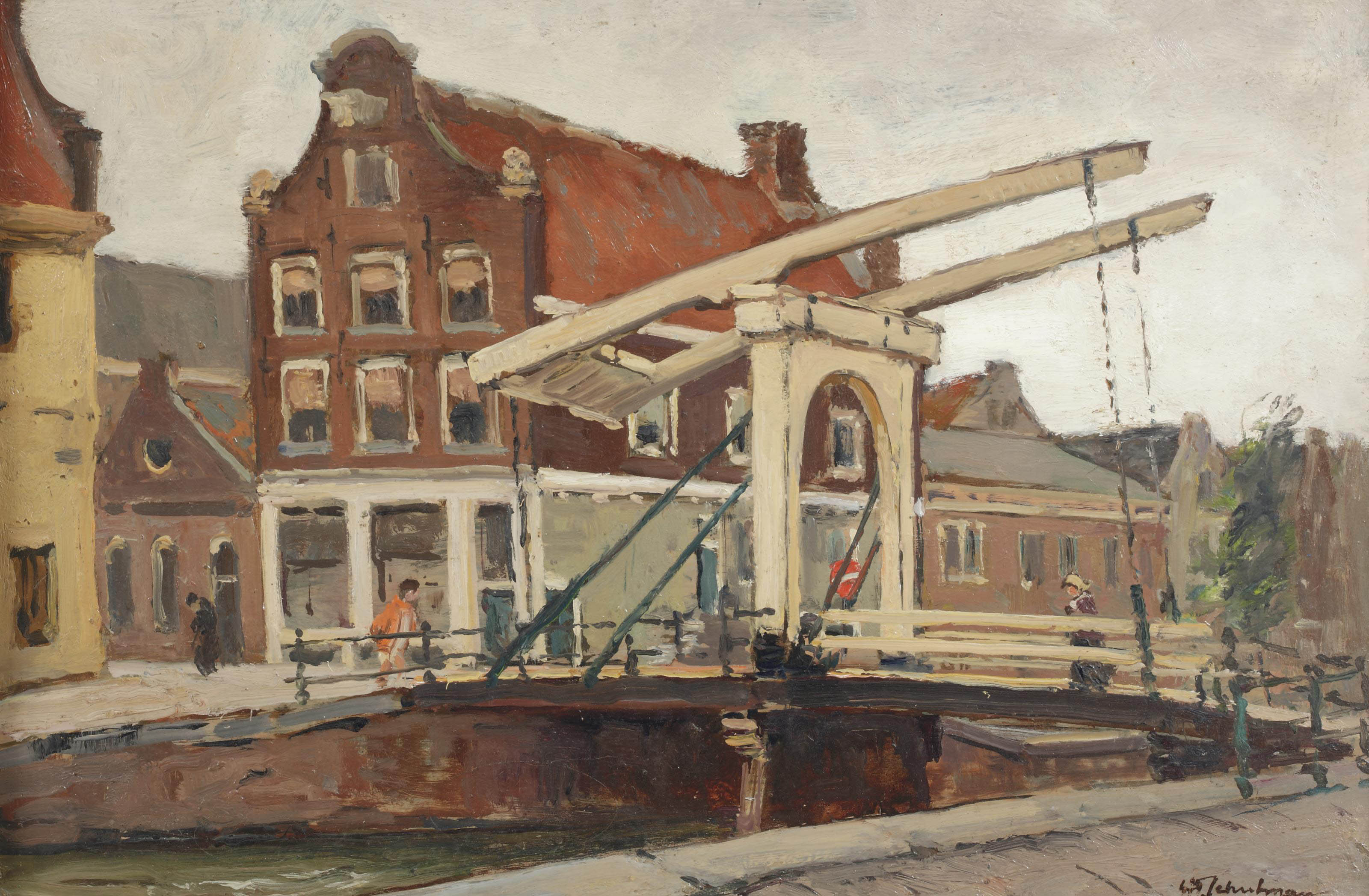Staalstraat; bridge over the Groenburgwal, Amsterdam