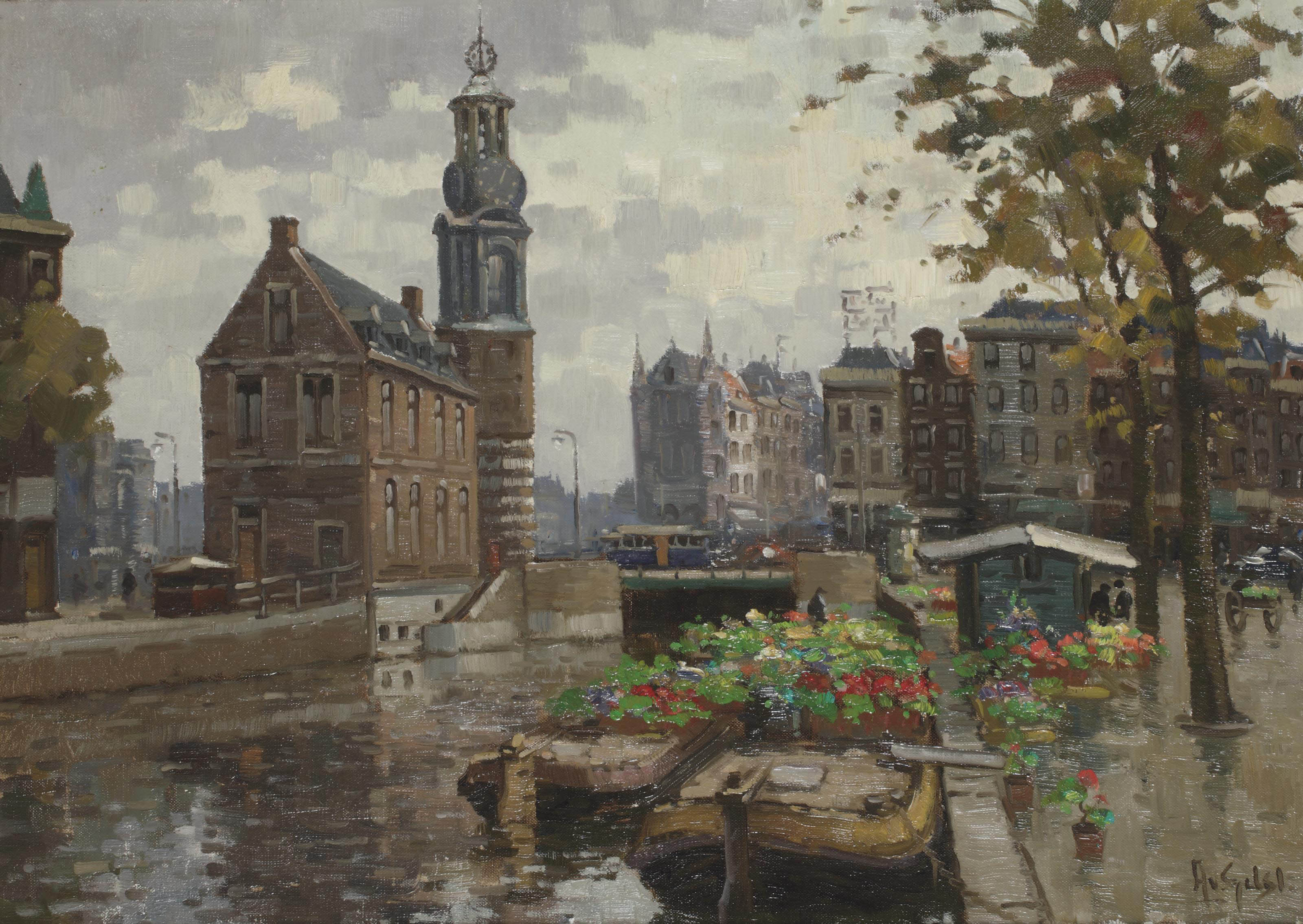 View of the Munt, Amsterdam