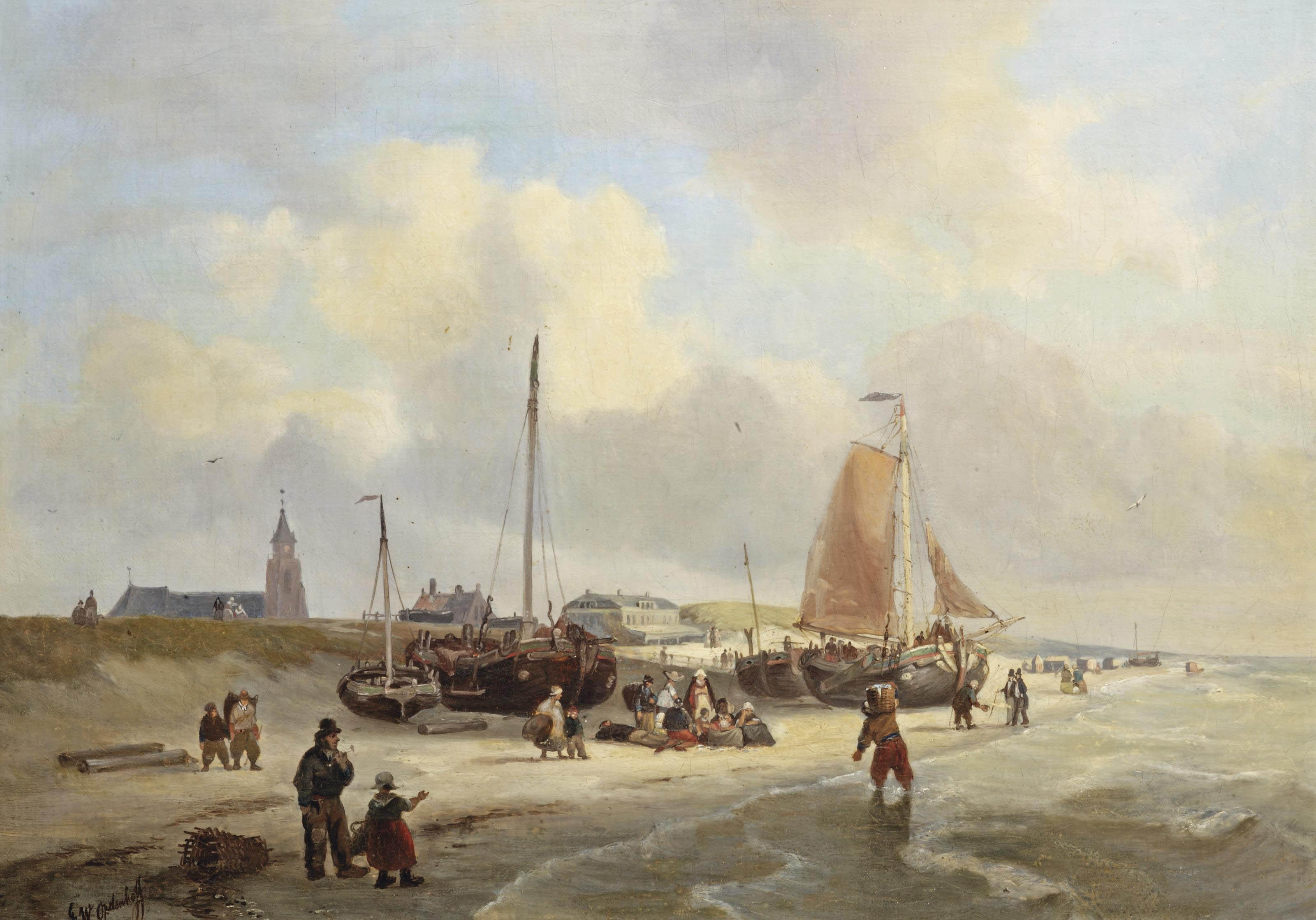 A view of the Kurhaus, Scheveningen