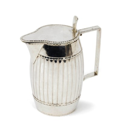 A Dutch silver milk-jug