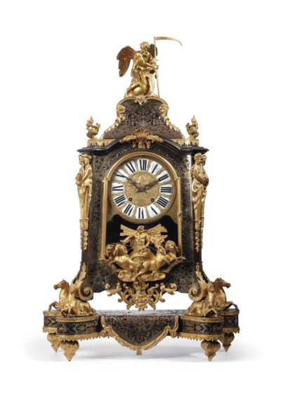 A large gilt-bronze mounted to