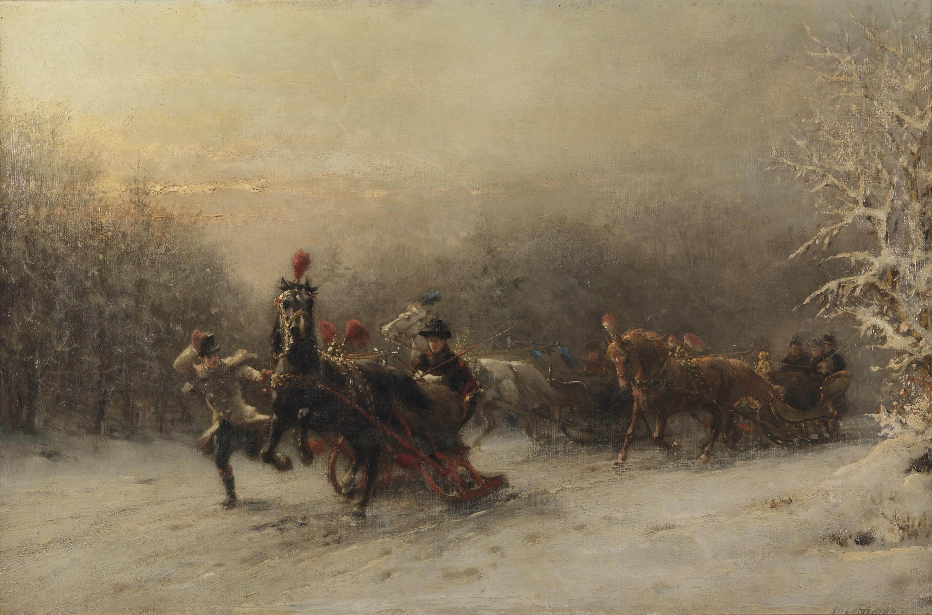 The sleigh-ride