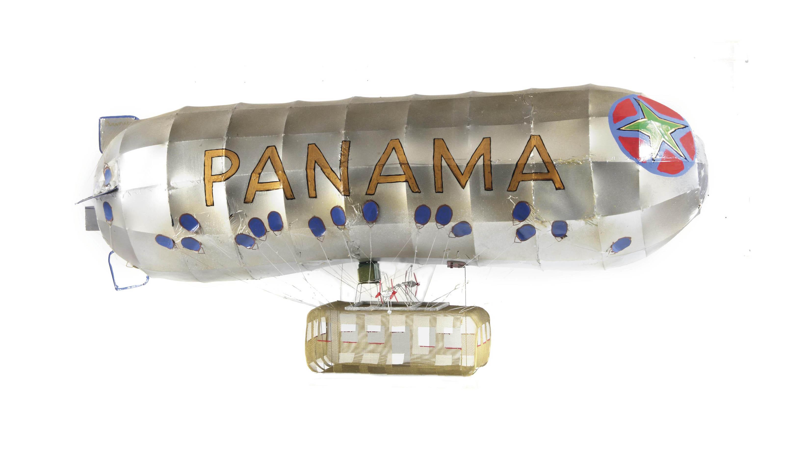 Panama: Aeromodeller I (Model voor luchtschip)