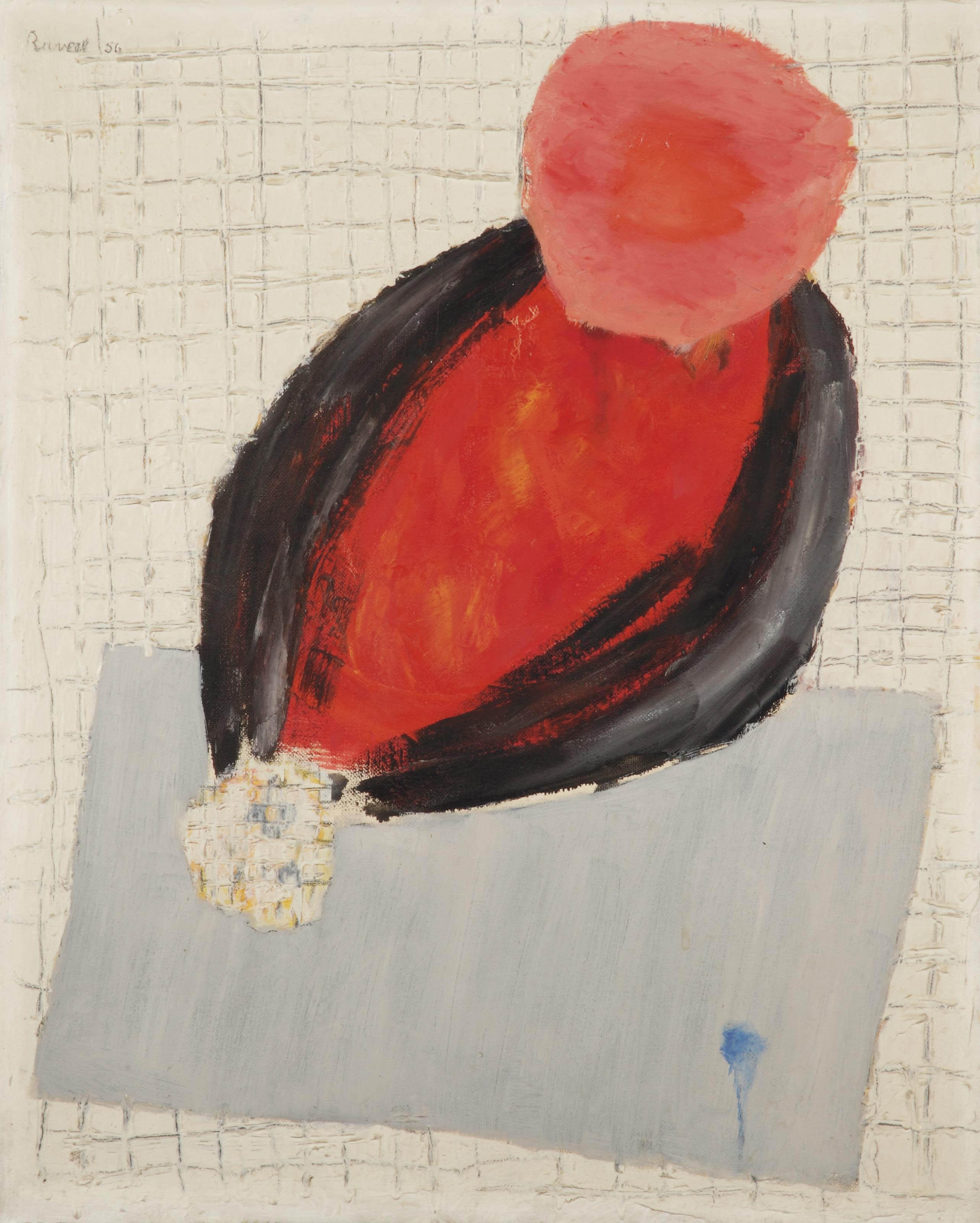 De dichter (portret van Hugo Claus)