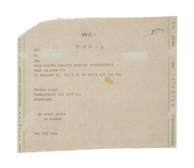 ON KAWARA (B. 1933)