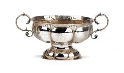 A German silver brandy-bowl