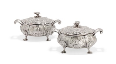 A pair of English George IV sa