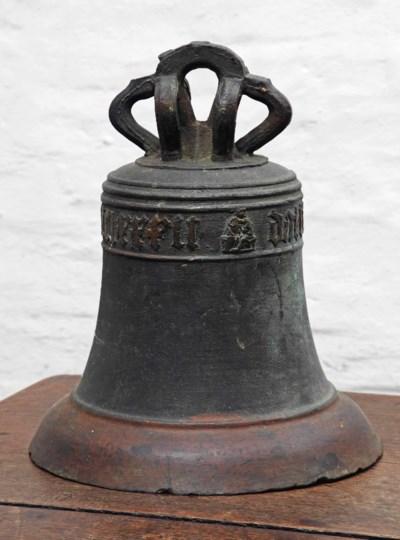 A German bronze bell