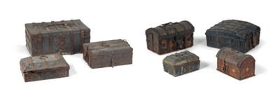 A COLLECTION OF SEVEN IRON AND