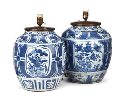A matched pair of Chinese late