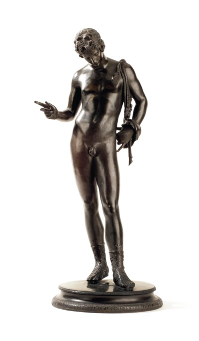 An Italian bronze figure of Na