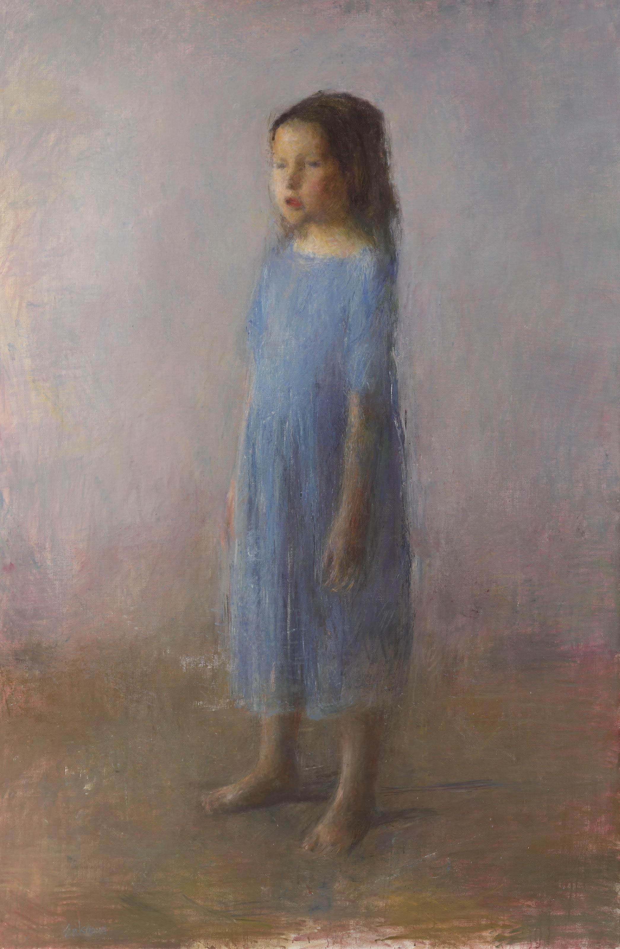L'Enfant (yarn en bleu)