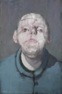Portrait en veste bleu