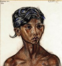 A young Balinese man