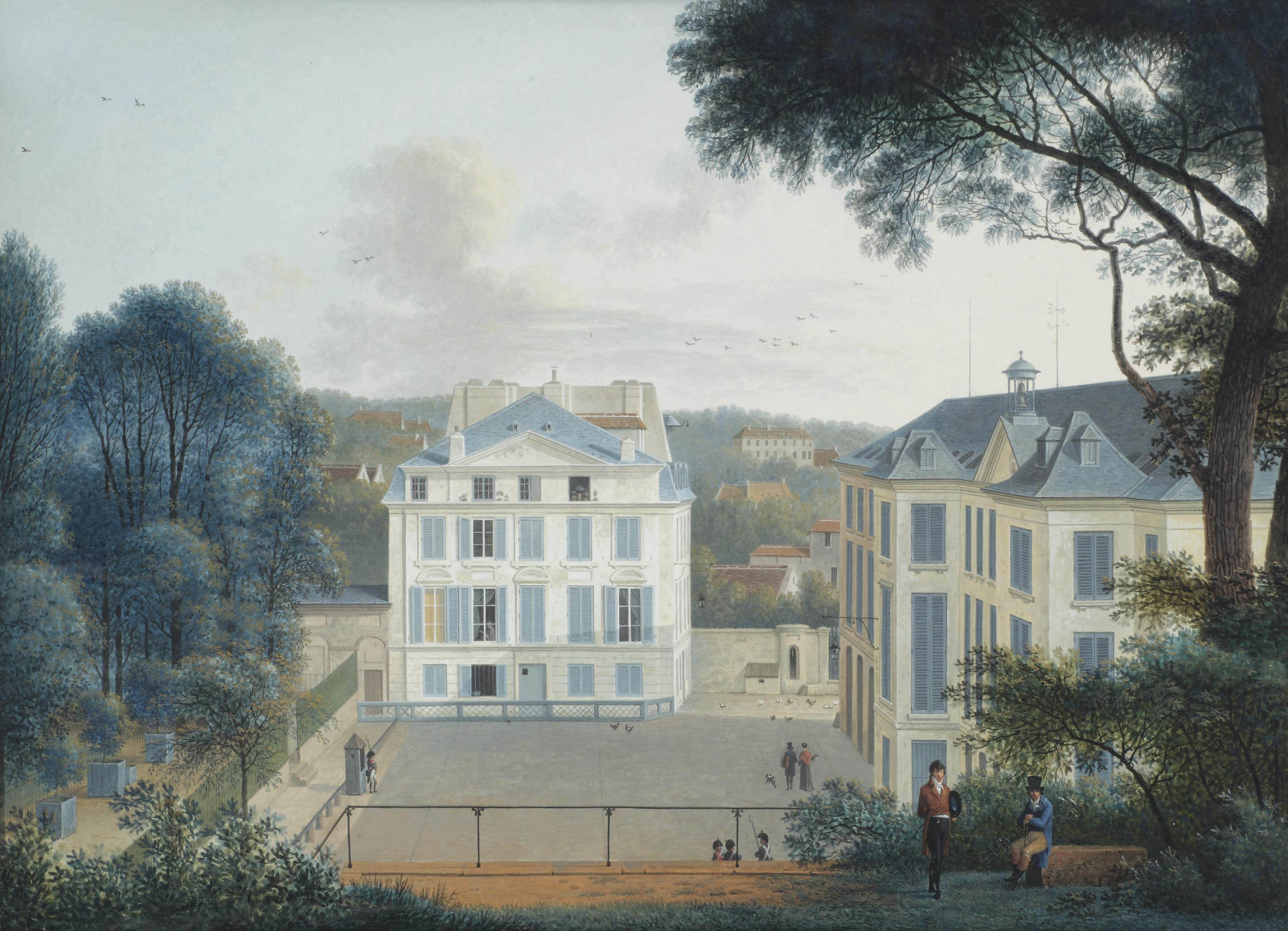 Maison de Buffon in the Jardin de Plantes, Paris