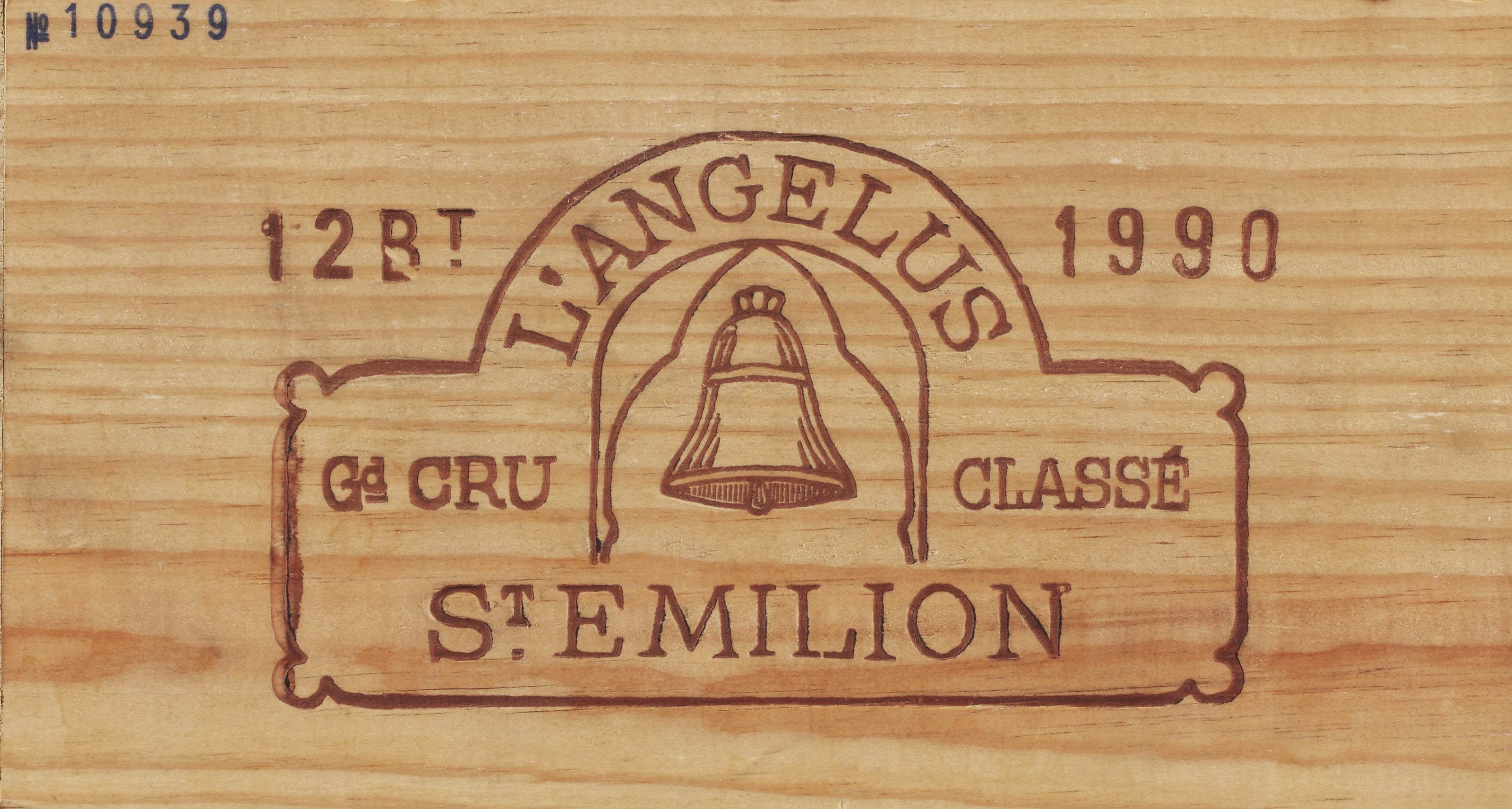 Château Angélus--Vintage 1990