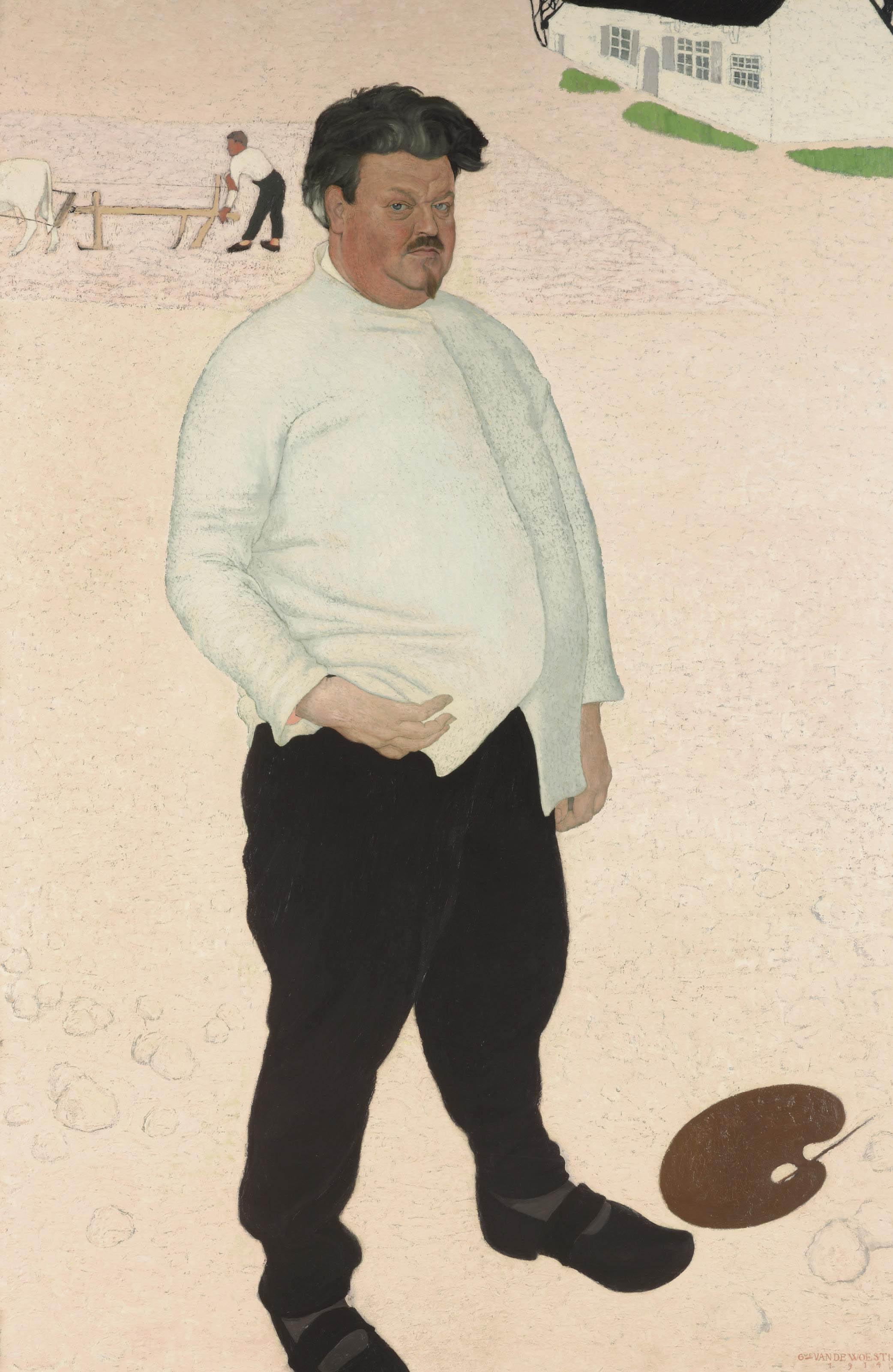 Portrait of Valerius De Saedeleer