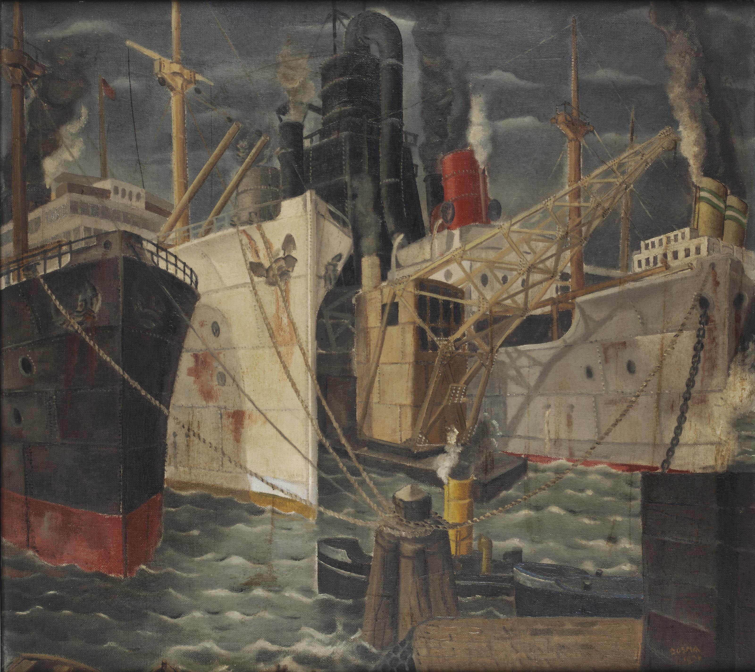 Havenbeeld Rotterdam